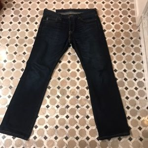 Abercrombie & Fitch Men's Bootcut Button Fly Jean